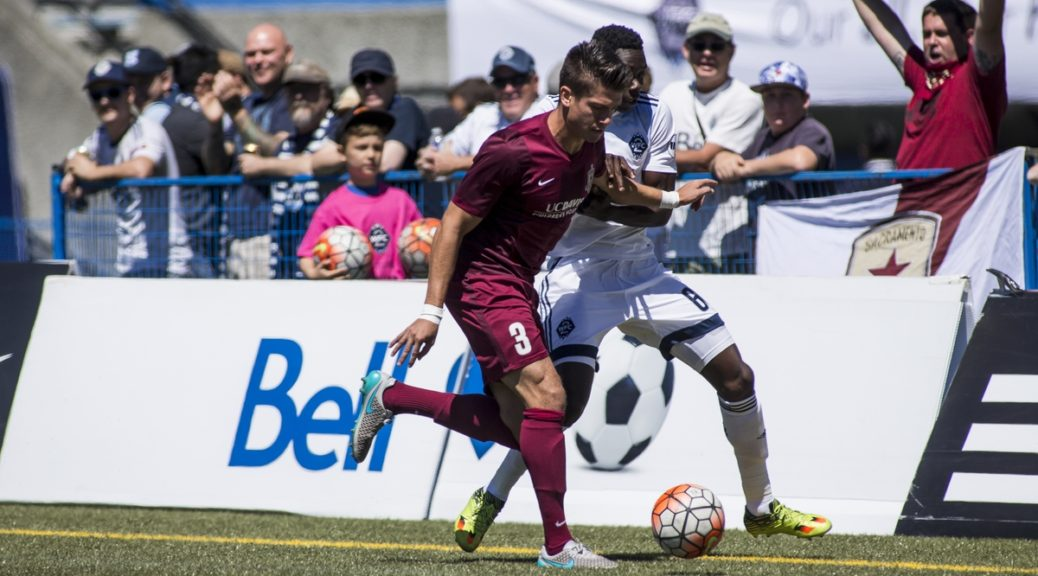 24 July 2016:  Action during a game between Vancouver Whitecaps FC 2 and Sacramento Republic FC in United Soccer League (USL) action at Thunderbird Stadium on the campus of the University of British Columbia in Vancouver, BC, Canada.  ****(Photo by Bob Frid - Vancouver Whitecaps 2016 -  All Rights Reserved)